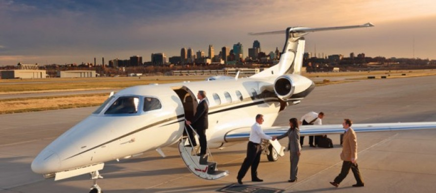 Corporate Business Road Show Private Jet Charter